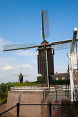 Windmill in Heusden — ストック写真