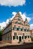 Medieval city hall in Naarden — Stock Photo
