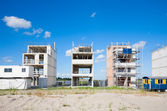 Construction site in Zeeburg, — Stock Photo