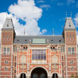 Facade of the Rijksmuseum — Stock Photo