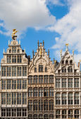 Guildhouses em Antuérpia — Fotografia Stock