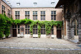 Courtyard of the Rubenshouse, — Stock Photo