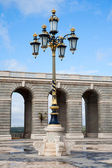 Ornate gilded lamp — Stockfoto