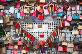 Thousands of love locks — Stock Photo