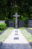 Grave at Melaten Friedhof — Stock Photo