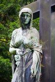 Grave at Melaten Friedhof — Zdjęcie stockowe