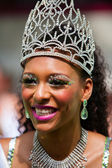 Queen of the Summer Carnival street parade in Rotterdam — Stock Photo