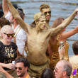 Canal Parade of the Amsterdam Gay Pride 2014 — Stock Photo #50857001
