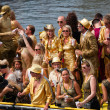 Canal Parade of the Amsterdam Gay Pride 2014 — Stock Photo #50857005