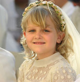 First holy communion — Stock Photo
