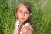 Portrait of young girl — Stock fotografie