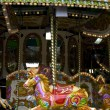 Old London carousel — Stock Photo