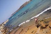Beach in Malta — Stock Photo