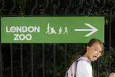 Going to the zoo — Stock Photo