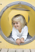 Bambina giocando — Foto Stock