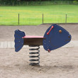 Stock Photo: Seesaw at playground
