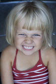 Portrait of cheeky girl — Foto de Stock