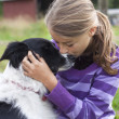 Child with dog — Stock Photo #19109025