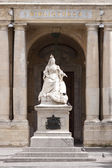 Statue of Queen Victoria in Malta — Stock Photo