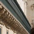 Detail of Grandmasters palace in Valletta, Malta — Stock Photo