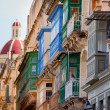 Street in Valletta, Malta — Stock Photo