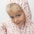 Stock Photo: Child in raincoat
