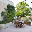 Stock Photo: Maltese farmhouse garden