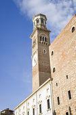 Bell tower Verona Italy — Stock Photo