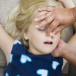 Stock Photo: Child first aid