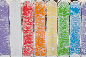 Colourful Fence — Stock Photo