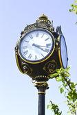 Sokak saati — Stok fotoğraf