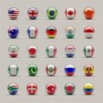 Sphere Flags — Stock Photo