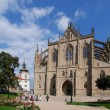 Kutna Hora - Church of St. Barbara — Stock Photo