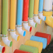 Royalty-Free Stock Photo: Colorful Pipes and Buckets