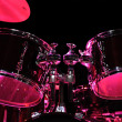 Drum Kit on the stage — Stock Photo #28174867