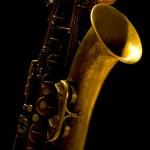 Man playing saxophone — Stock Photo #28174873