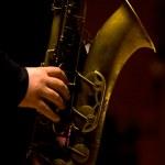 Man playing saxophone — Stock Photo #28174875
