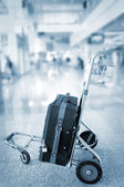 Traveling bags — Stock Photo