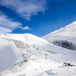 Winter mountain - Stock Photo