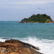 The beach on the island of Koh Samet — Stock Photo