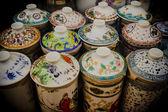 Vintage ceramic pottery — Stock Photo