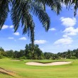 Scenic golf course near Pattaya thailand — Stock Photo