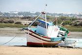 Bateau de pêche à sancti petri — Photo