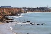 Kliffen conil kustlijn, spanje — Stockfoto