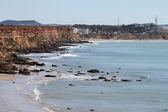 Cliffs Conil coastline, Spain — Stock Photo