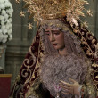 Virgin of the Incarnation, Jerez de la Frontera, religious image — Stock Photo #20827799