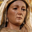 Santa Ana image of the Virgin Mary thrive. — Stock Photo