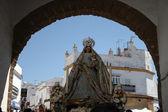 Virgen del Rosario, Conil de la Frontera. — Stock Photo