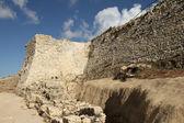 Restos arqueológicos del castillo, Medina Sidonia — Zdjęcie stockowe