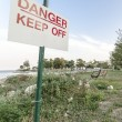 Danger Keep off — Stock Photo